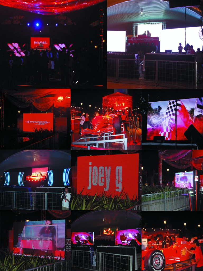 KL Tower Ferrari LED Display