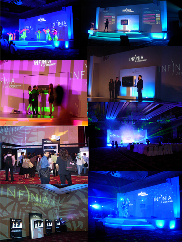 LG Infinia Launch at OneWorld Hotel 2010